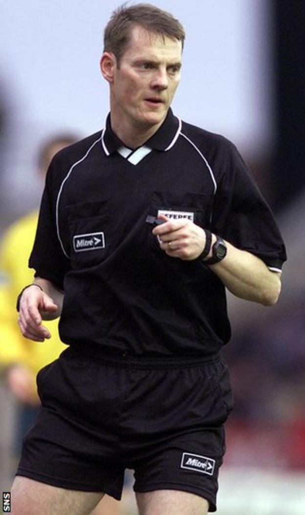 Former referee Kenny Clark