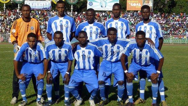 Somali team