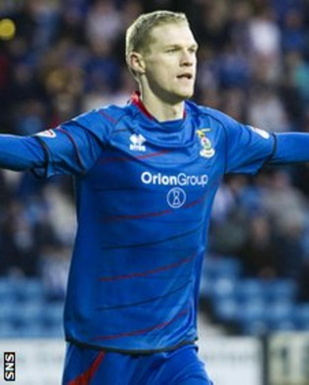 Billy McKay scored the winner for Inverness at Rugby Park