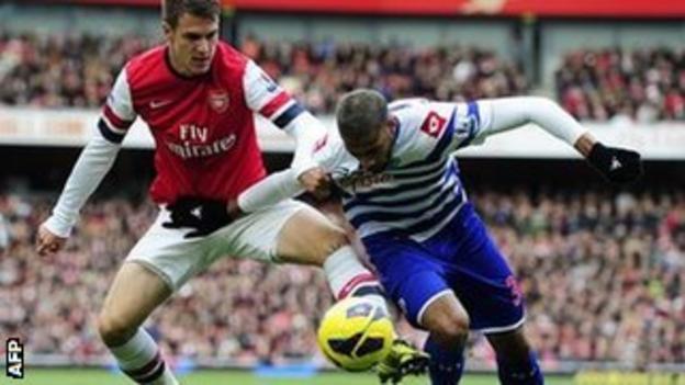 Arsenal v QPR