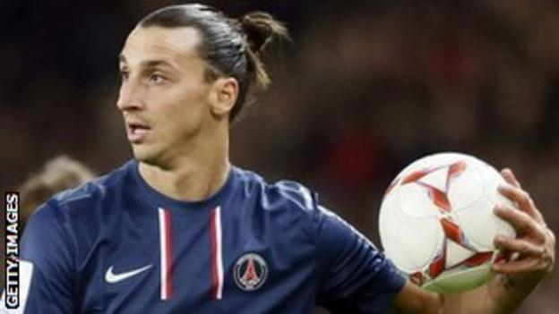 Zlatan Ibrahimovic left for PSG in the summer in a joint deal with Thiago Silva