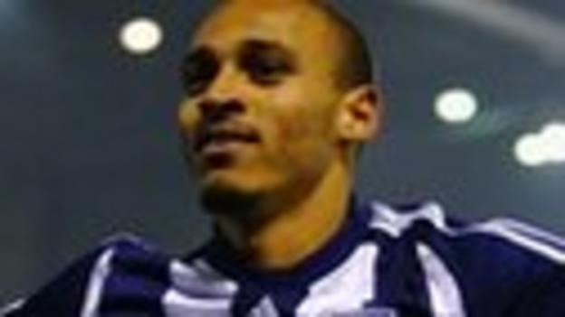 Peter Odemwingie of West Brom