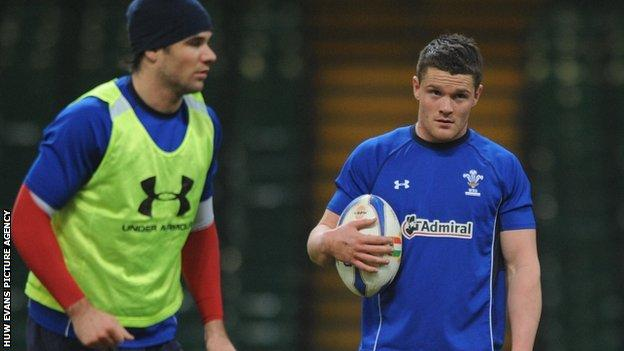 Mike Phillips (left) and Tavis Knoyle