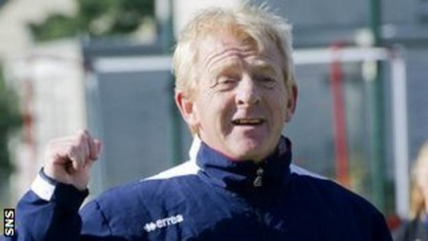 Strachan is a Lloyds TSB Scotland Schools' Football Ambassador