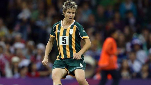 South Africa's Janine van Wyk