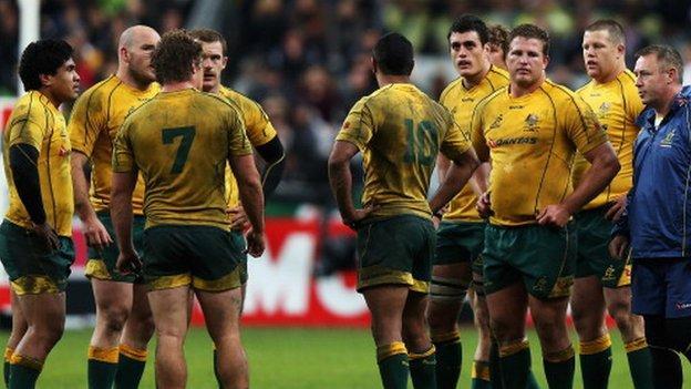Australia lose against France