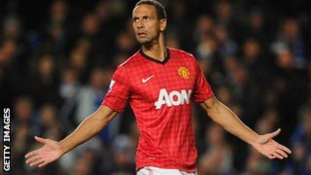 Ferdinand's existing deal at Old Trafford runs out in the summer