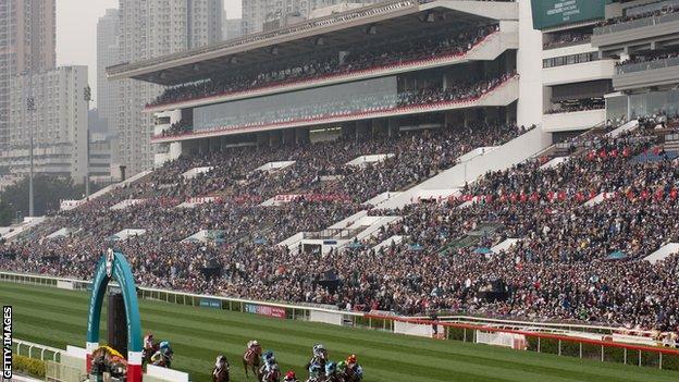 The Sha Tin Racecourse