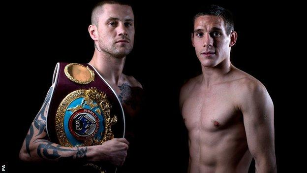 Ricky Burns and Liam Walsh