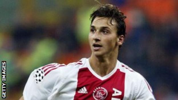 Ibrahimovic scored 35 goals in 74 appearances for Ajax before he moved to Juventus in 2004
