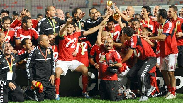 Al Ahly are crowned 2012 champions