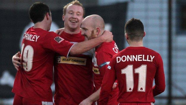 Cliftonville have plenty of goalscorers in their impressive team
