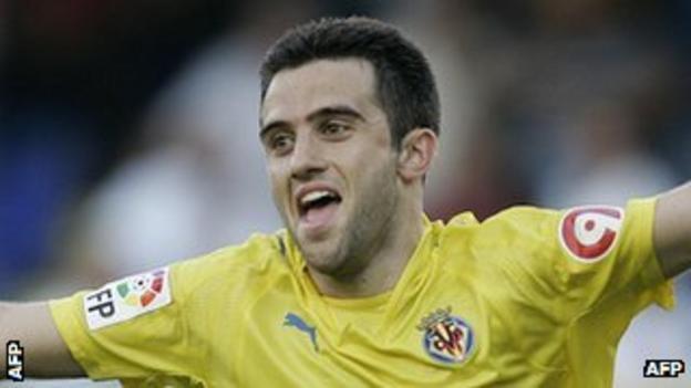 Giuseppe Rossi of Villarreal