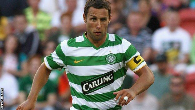 Former Celtic striker Scott McDonald