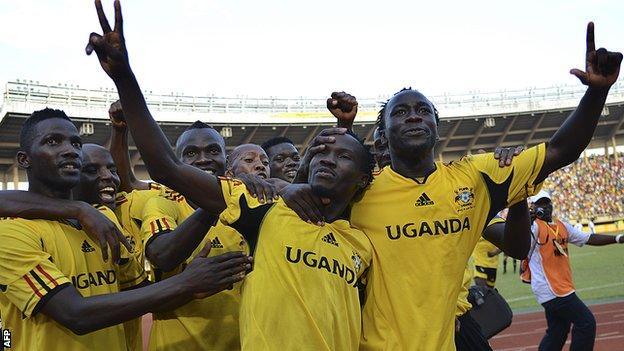 Uganda's international footballers