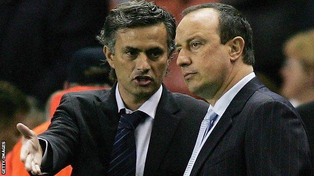 Jose Mourinho & Rafa Benitez