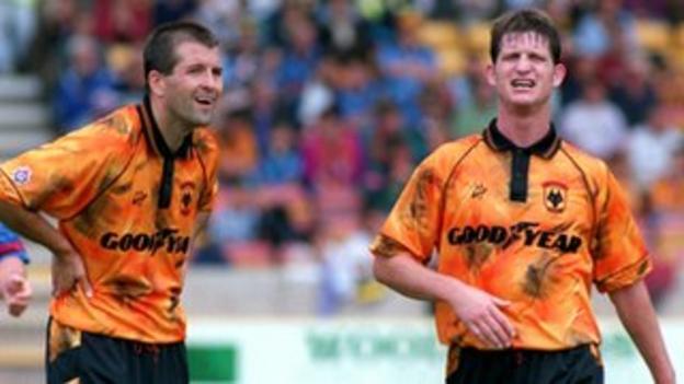 Steve Bull and Andy Mutch