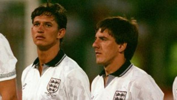Gary Lineker and Peter Beardsley