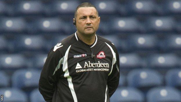 Edinburgh coach Michael Bradley