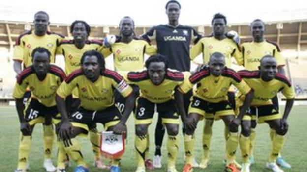 Uganda football team