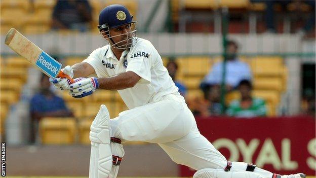 Indian captain Mahendra Singh Dhoni