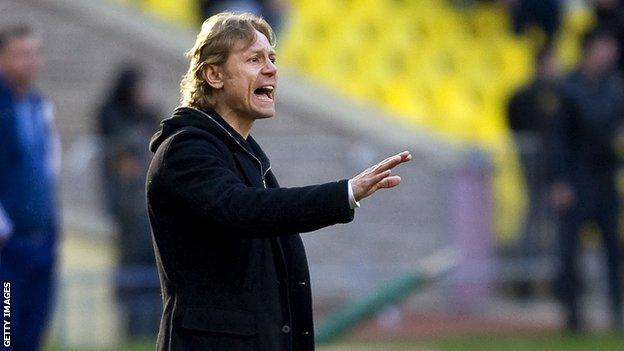 Valery Karpin is back in the Spartak Moscow dug-out