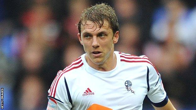 Bolton Wanderers full-back Stephen Warnock