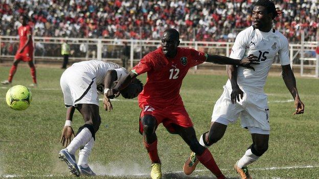Malawi v Ghana