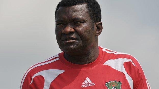 Malawi coach Kinnah Phiri