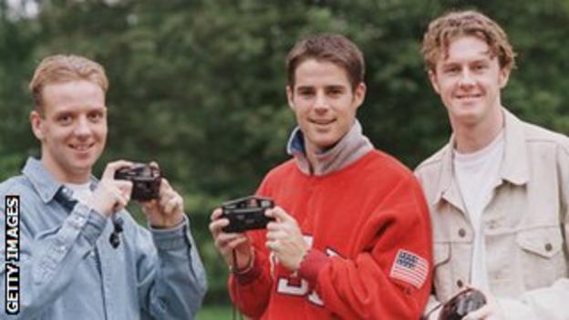 Rob Jones, Jamie Redknapp and Steve McManaman