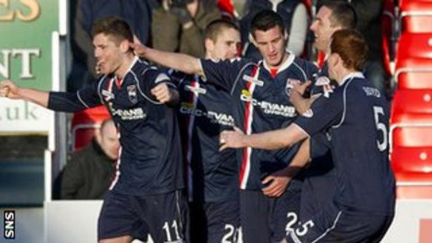 Ross County thought they had snatched victory in stoppage time