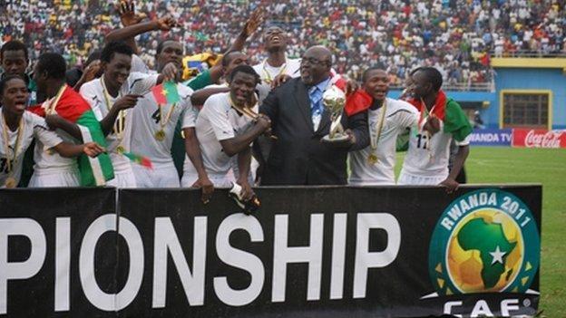 2010 African under-17 champions Burkina Faso