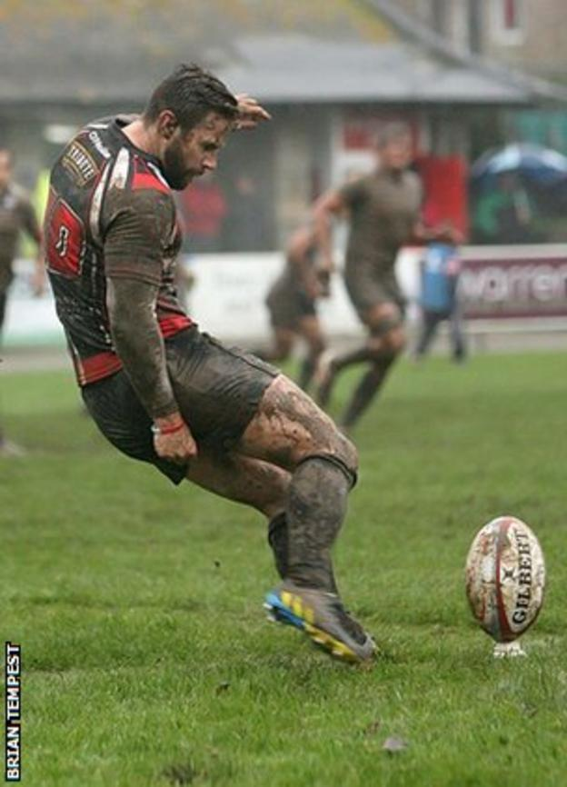 Kieran Hallett was injured on Sunday against Nottingham