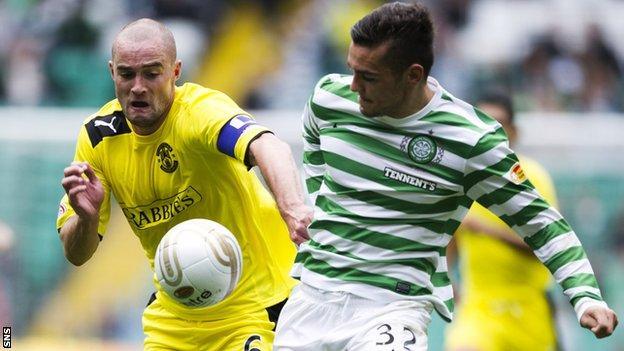 Hibernian and Celtic presently top the SPL