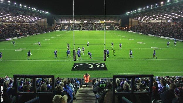 Stobart Stadium, home of Widnes Vikings