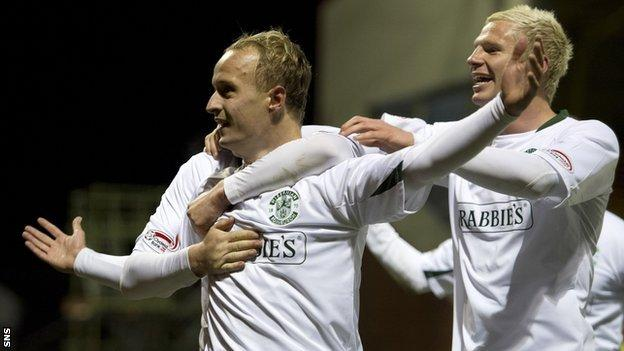 Leigh Griffiths and Ryan McGivern