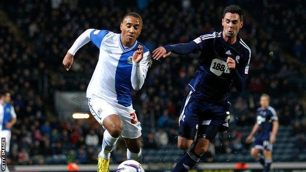 Blackburn Rovers full-back Adam Henley