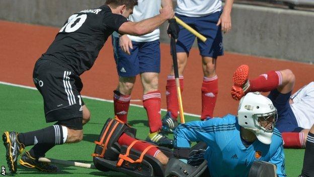 Cedric Charlier scores for Belgium
