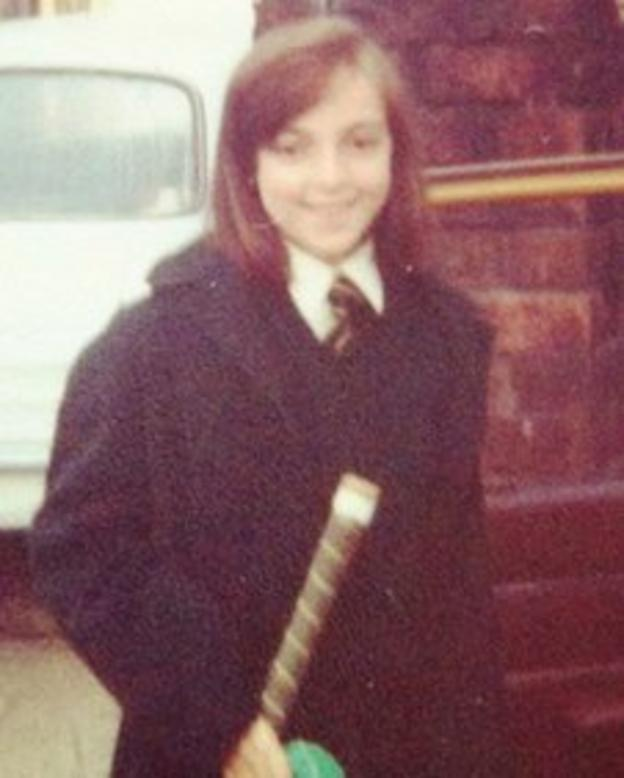 Sally Nugent aged 11