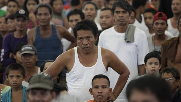 Manny Pacquiao fans in Manila
