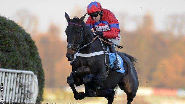 Jockey Barry Geraghty and Sprinter Sacre