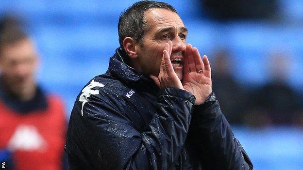 Portsmouth caretaker boss Guy Whittingham