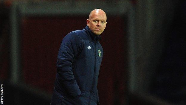 Blackburn Rovers manager Henning Berg