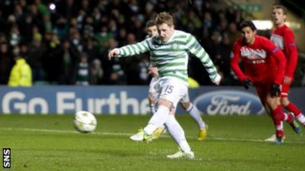 Kris Commons' penalty gave Celtic a crucial win against Spartak Moscow