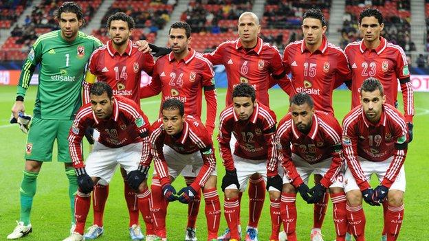 Al Ahly at the 2012 Club World Cup