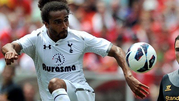 Tottenham Hotspur defender Benoit Assou-Ekotto