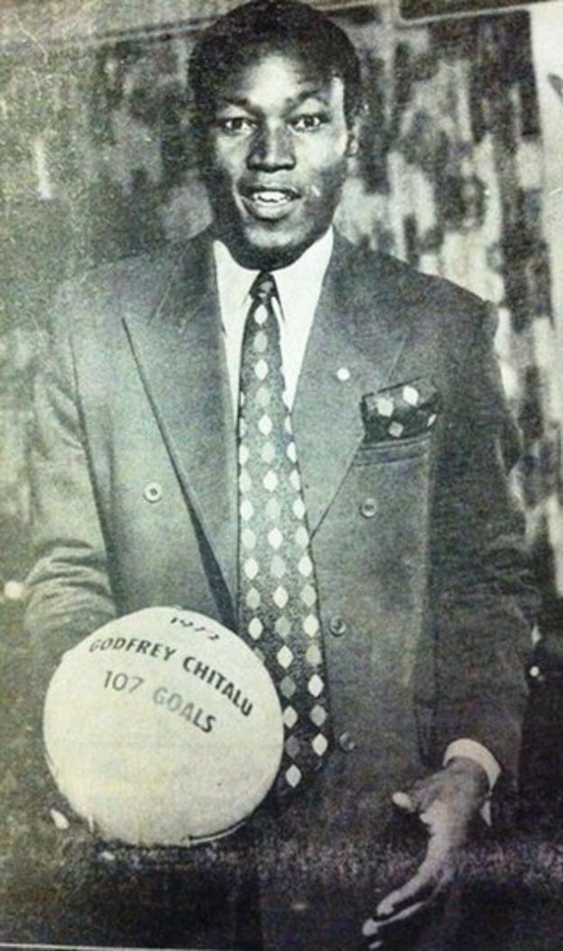 Zambia striker Godfrey Chitalu