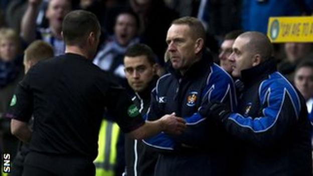Stevie O'Reilly and Kenny Shiels