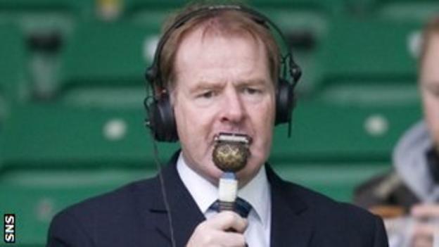 BBC Radio Scotland football pundit Murdo MacLeod