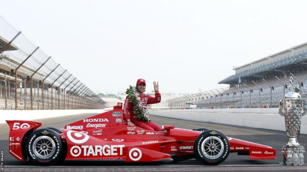 Three-time Indy 500 winner Dario Franchitti